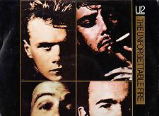 U2 DISCO MINILP THE UNFORGETTABLE FIRE  + N. 4 - BRIAN ENO