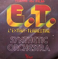 ++SYNTHETIC ORCHESTRA e.t. l'extra-terrestre/le piano spatial SP 1982 VG++