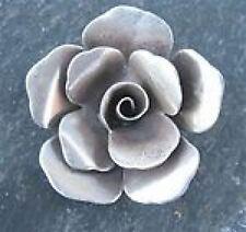 Sterling silver 40mm-45mm karen hilltribe LRG rose pendentif # 2