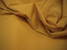 Mustard Polycotton Plain Craft Dress Fabric FREE P+P SOLD BY THE METRE