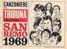 [BPZ] CANZONIERE DELLA TRIBUNA ILLUSTRATA SAN REMO 1969