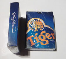 Malaysia Playing Cards Tiger Beer from Guinness Anchor 2001 Blue Sealed