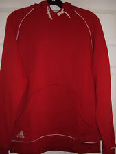 Adidas Men's Hoody Red/White Size S