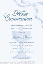 10 Personalised Communion Invitations Boy New Design 9