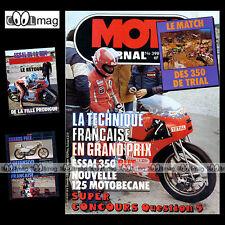 MOTO JOURNAL N°398 MARTIN-HONDA CBX 1000 MOTOBECANE 125 GP GRAND PRIX OSSA '79