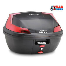 Givi B37 Moto Scooter 37L Top Case & Montage Universel, Vendeur UK Disponible