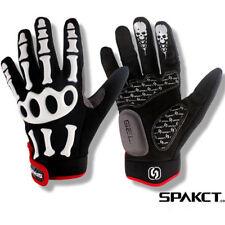 Hot Spakct Skull Full Finger Cycling Gloves Gym Bike Sport Outdoor Hiking Glove