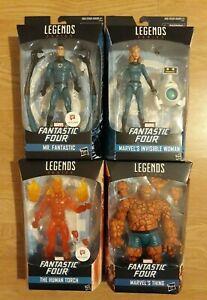 Marvel Legends Walgreens Fantastic Four Bundle Lot