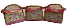 Barbie Lot Of 3 Sweet Orchard Farm Barn Animals Pets Series 1 Sealed Blind Pack