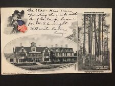 Antique POSTCARD c1903 Southern Pines Hotel SOUTHERN PINES, NC (20196)