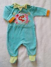 9e7a387fe6a2c Pyjamas Vertbaudet en velours pour fille de 0 à 24 mois