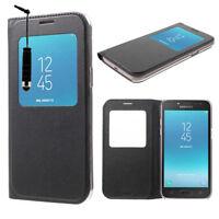 Ver Folio Funda Protectora para Samsung Galaxy J2 pro (2018) SM-J250F Pin de