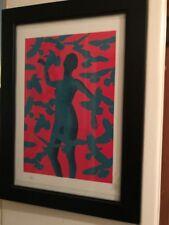 Eelus - Conspiracy 1 Print, Hand Sprayed Edition Of Only 30, Dolk Whatson, Faile