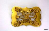 Art Nouveau Sash Pin Vintage Art Nouveau Brass Brooch Pin SagaOfLuck *