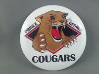 Prince George Cougars (WHL) - Cougar logo from team's return in late 1990s !!!