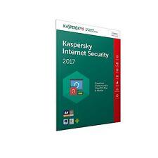 KASPERSKY INTERNET SECURITY 2017 1 USER RETAIL FFP 1 YEAR