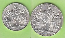 Preußen 2 und Mark 1913 Befreiungskriege sehr hübsch nswleipzig