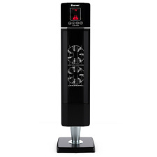 1500W Home Oscillating Ceramic Tower Heater Portable W/ Timer Remote Indoor Home