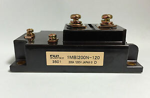 Fuji Electric 1MBI200N-120 IGBT Module 200A 1200V New Japan 1pc