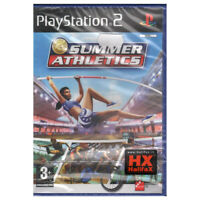 Summer Athletics Video Game PLAYSTATION 2 PS2 Eidos Interactive Sealed