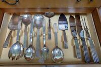 Bernadotte by Georg Jensen Sterling Silver Flatware Set Service 145 pcs Dinner