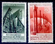 ITALIA 1955 - PETROLIO SERIE  NUOVA **