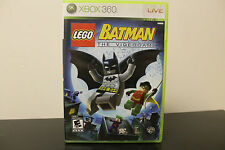 LEGO Batman: The Videogame  (Xbox 360, 2008) *Tested/Complete