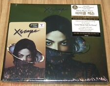 MICHAEL JACKSON Xscape KOREA CD + DVD DELUXE Limited POP Card Edition CD SEALED