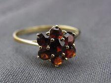 schöner alter Granat-Ring Gold 333/- Nr.1