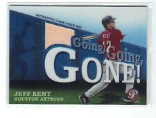 "2004 Topps Pristine  ""Jeff Kent""  Going Going Gone   G.U.B. card"