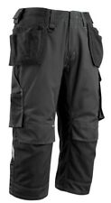 Mascot Workwear Lindau 3/4 Pant Trousers 14449 Black Size EU C44/US 28.5