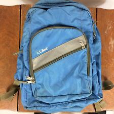 Vintage LL Bean Back Pack Teal 90s Grunge Backpack Teal Blue School College Bag
