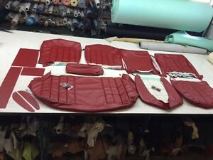 HOLDEN HR PREMIER Seat Upholstery Interior Trim Seat Covers