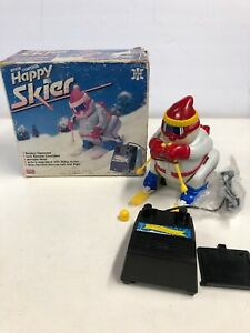 Vintage battery operated skier R2
