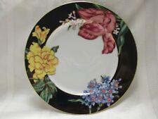 Fitz and Floyd Bariolage des Fleurs Salad Plate (399)