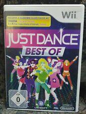 Wii Spiel Just Dance Best Of ohne Anleitung guter Zustand + OVP
