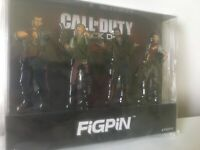Call Of Duty Black Ops 4 Zombies FigPin Set Fig Pin Bruno Stanton Diego Scarlett