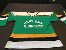 Lucky Joe's Bar Fort Collins Colorado men's hockey jersey game used size Large