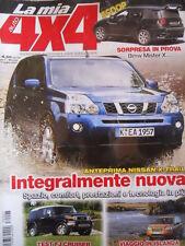 LA MIA AUTO 4x4 n°68 2007 Freelander Td4 Nissan X-Trail FJ Cruiser  [P37]