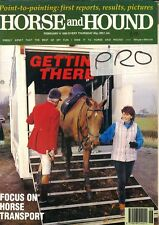 Horse and Hound Magazine February 8th 1990