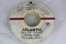 "Atlantic EK1 100B K 7 VJ Grinding Wheel 4400 RPM 14x2"""