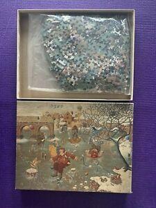 Vintage Springbok Puzzle Allgauer Skating