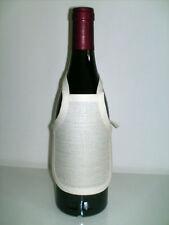 Tablier de bouteille aida 5.5 lin écru à broder au point de croix crème 3865