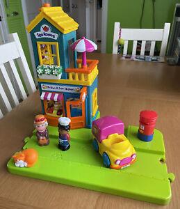 ELC Happy Street Bakery With Van, Figures, Cat And Post Box