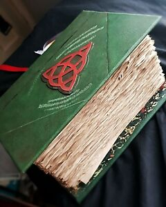 Charmed Book Of Shadows Cover Case Journal Thick