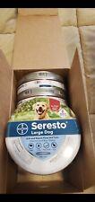 New listing Seresto large dog flea collar 6 pack