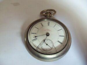 Antique Rockford 18 Size Open Face Pocket Watch