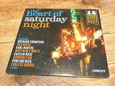 VARIOUS - UNCUT HEART OF SATURDAY NIGHT !!!!!!!! RARE CD PROMO