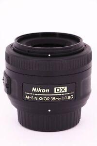 NIKON Nikkor AF-S 35mm f/1.8G DX  Professionally tested