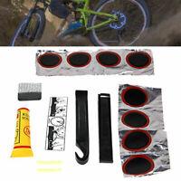 Sn _ Sports Bicyclette Vélo Pneu Levier Intérieur Tube Patches Colle Réparation
